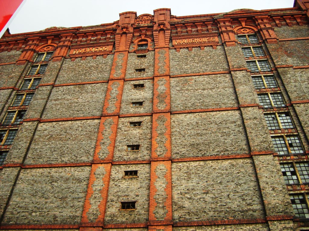 Stanley dock tobaccco warehouse